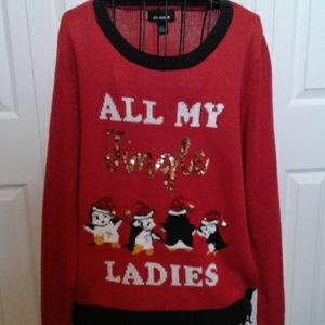 Penguin Christmas sweater